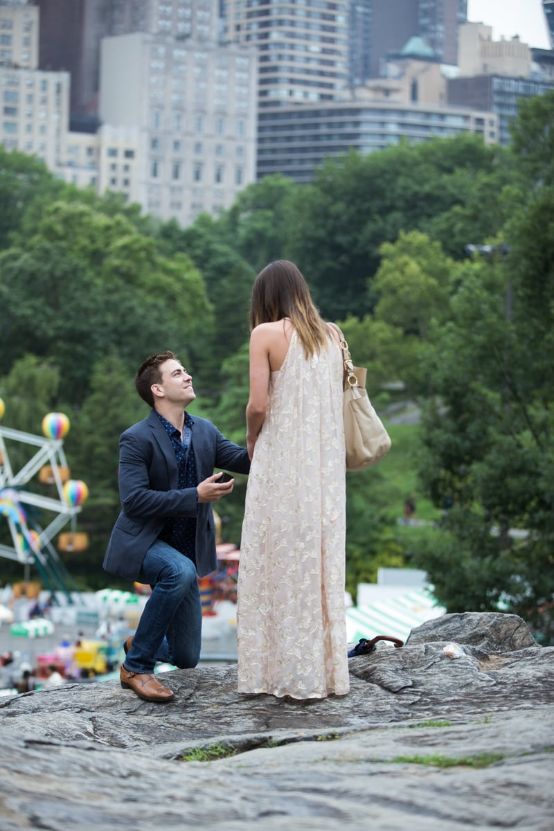 Photo 9 Marriage Proposal on the Rock in Central Park | VladLeto