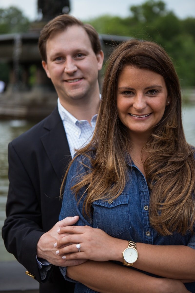 Photo 15 Central park wedding proposal by the Lake | VladLeto