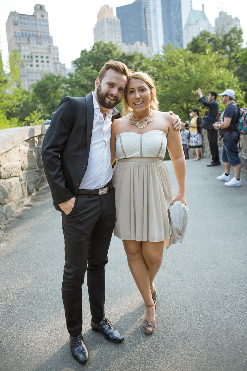 [ Gapstow Bridge marriage proposal in Central Park]– photo[2]