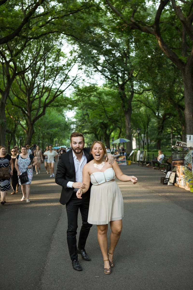 [ Gapstow Bridge marriage proposal in Central Park]– photo[3]