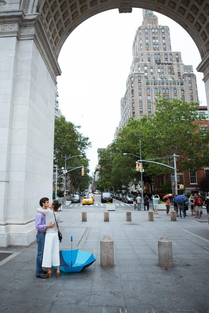 Photo 5 Proposal in Washington Square Park. | VladLeto
