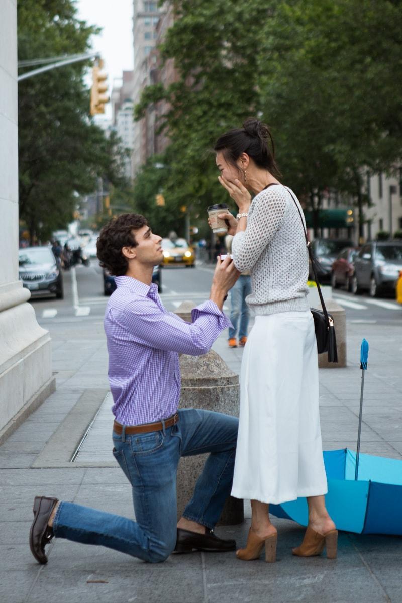 Photo 7 Proposal in Washington Square Park. | VladLeto