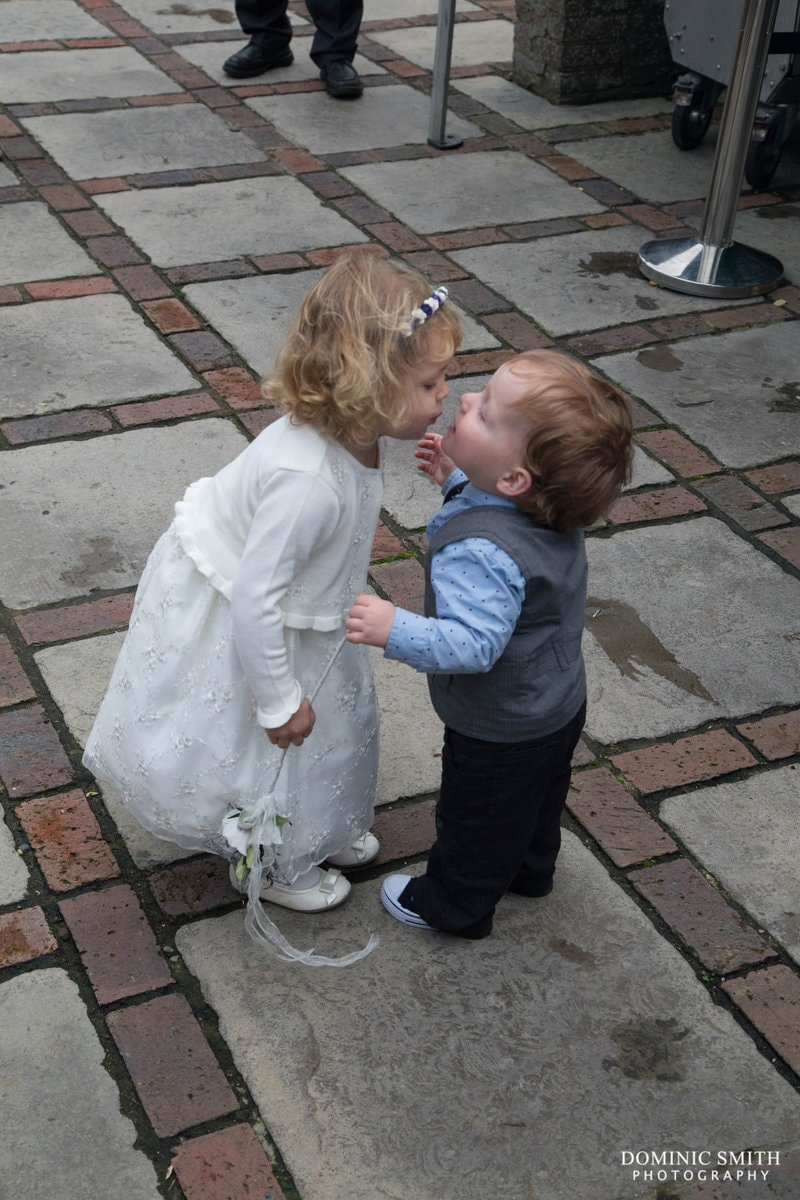 Young Flower Girl and Paige Boy