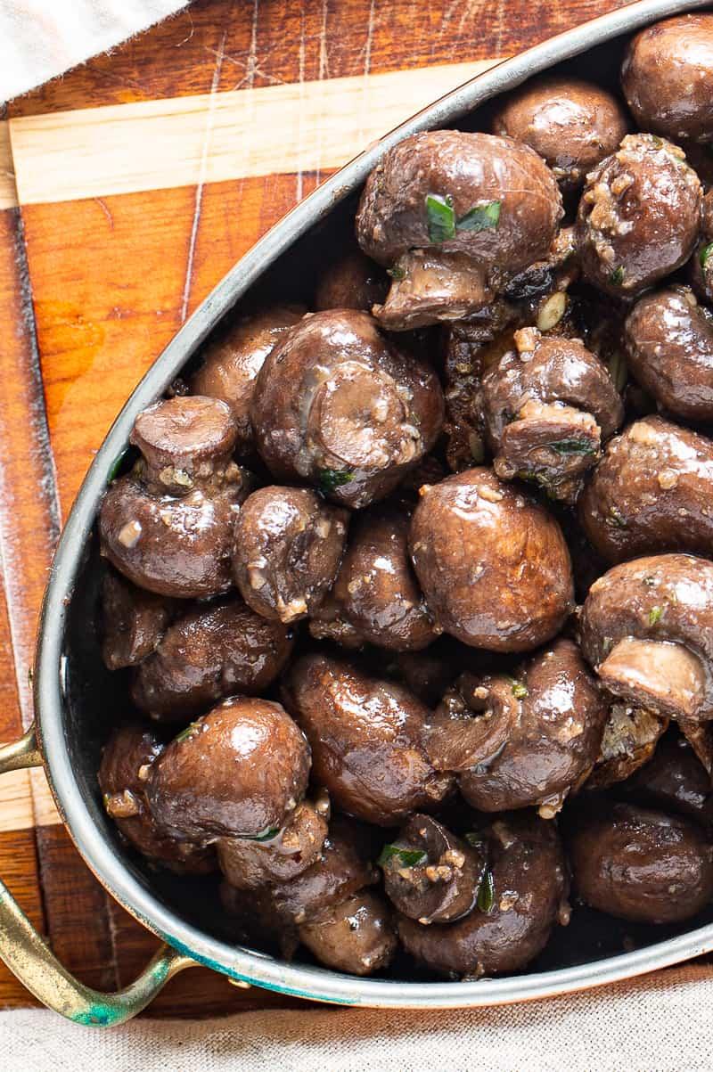 button mushroom recipe
