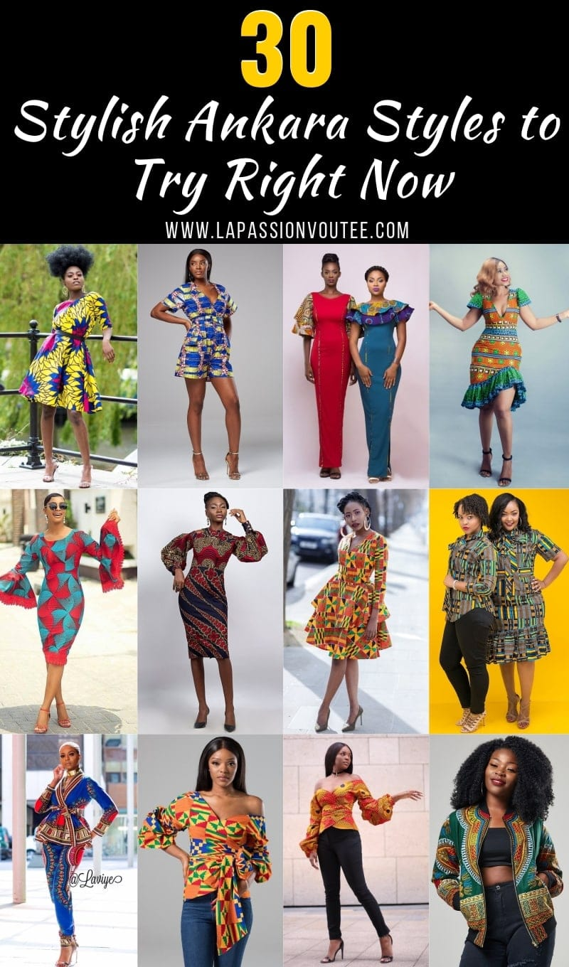 30 Stylish Ankara Styles to Try Right Now. If you are searching for some of the hottest styles this season, you need to read this article to discover some of the most stunning Ankara dresses, skirts, tops, and pants. Post includes Nigerian Fashion, African Fashion, African print dresses, Dashiki Dress, African clothing, Dashiki, African dress styles and African attire.