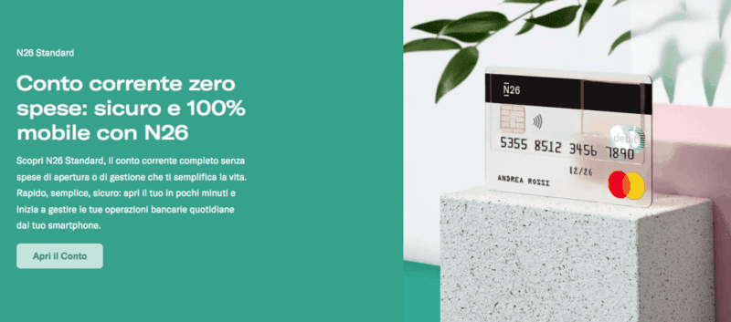 N26 Conto Online