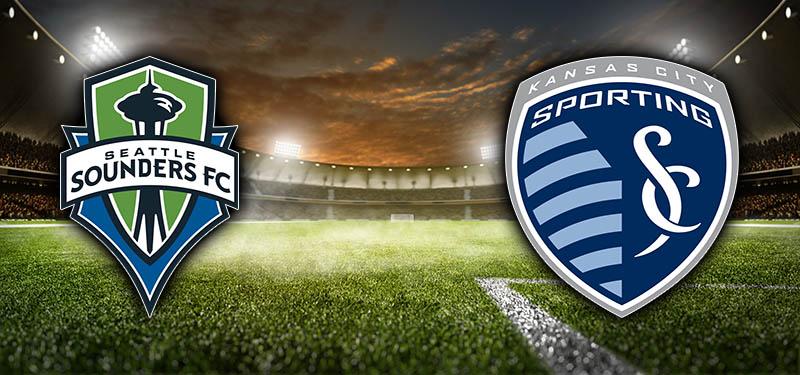 Seattle Sounders taking on Sporting KC - MLS