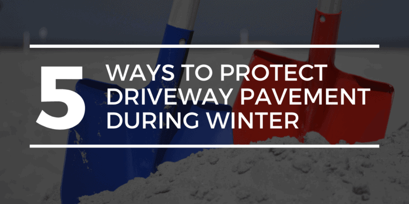 Protect Driveway Pavement During Winter