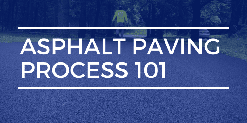 asphalt paving process