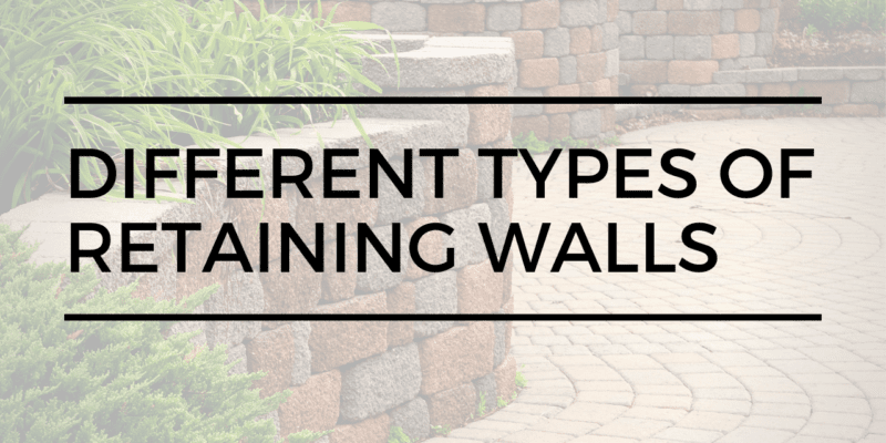 Retaining Walls Types