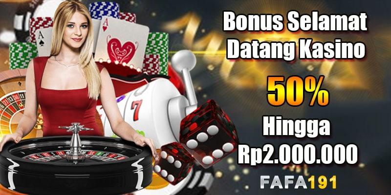 FAFA191 Casino Bonus dan Promosi 02