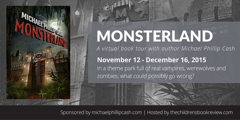 Monsterland Blog Tour Header Image