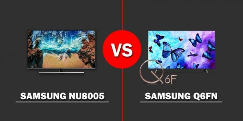 Comparativa TV: Samsung NU8005 vs. Q6FN
