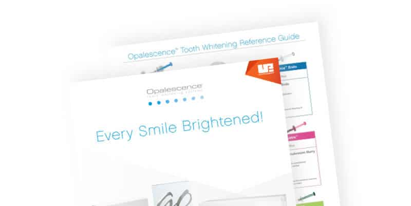 Opalescence Whitening Reference Guide