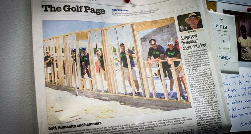 South Florida Professional Golf Association in the Daily News