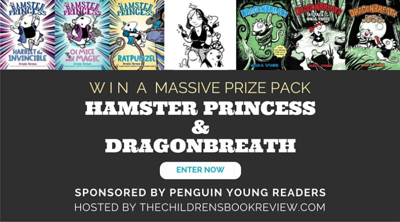 Win the Ursula Vernon Prize Pack_ Hamster Princess and the Danny Dragonbreath Series
