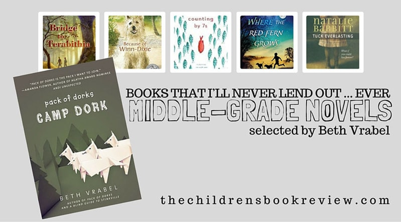 5 Middle Grade Books That I'll Never Lend Out to Anyone Ever