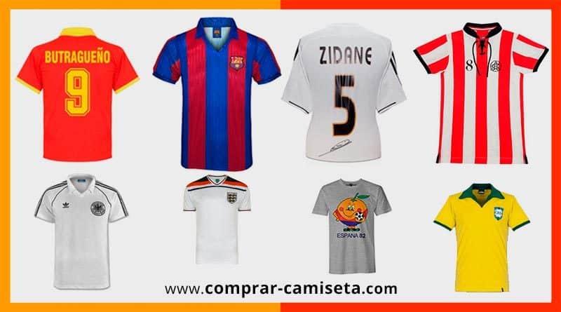 Comprar camisetas de fútbol retro 890d47a6542bf