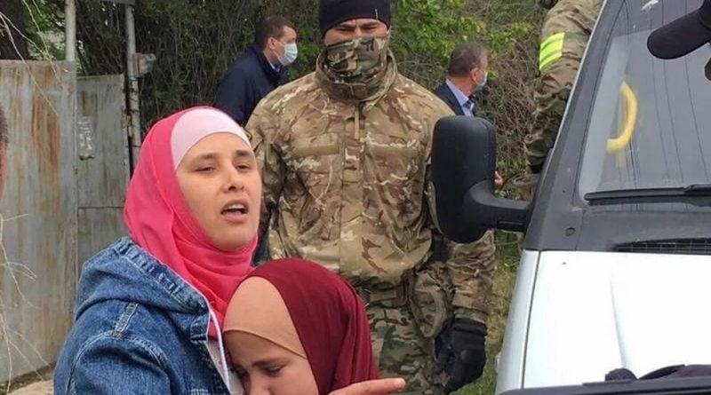 Российские силовики в Крыму убили жителя Узбекистана, а его жену разлучили с детьми