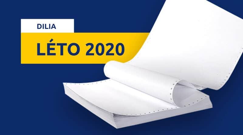 Zprávy DILIA LÉTO 2020