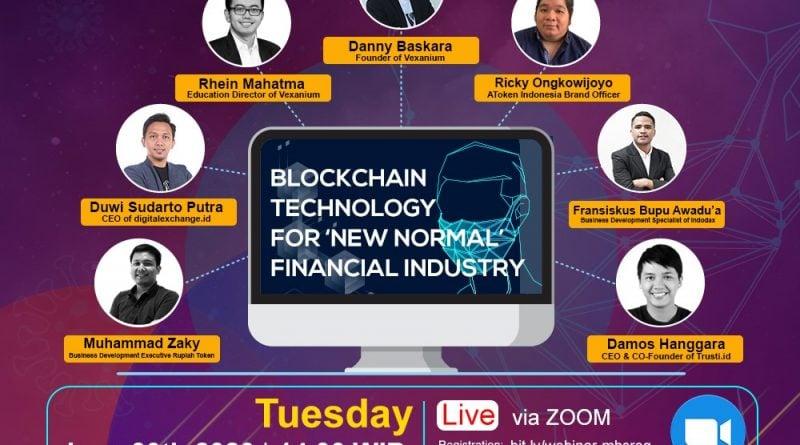 AToken x Vexanium Webinar: Blockchain Technology For 'New Normal' Financial Industry