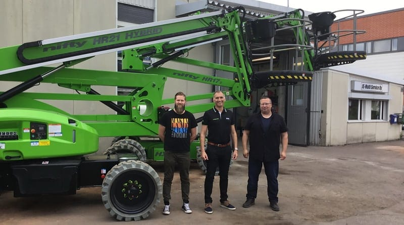 Niftylift targets Finland