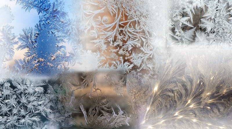 Winter Art: Frost Patters on Windows (HD wallpapers)
