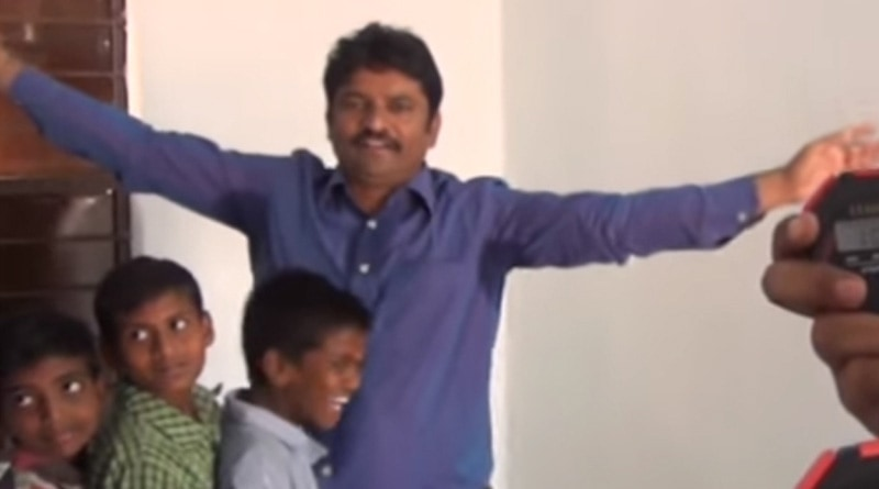 Krishna Kumar sets Guinness Record for most hugs in a minute