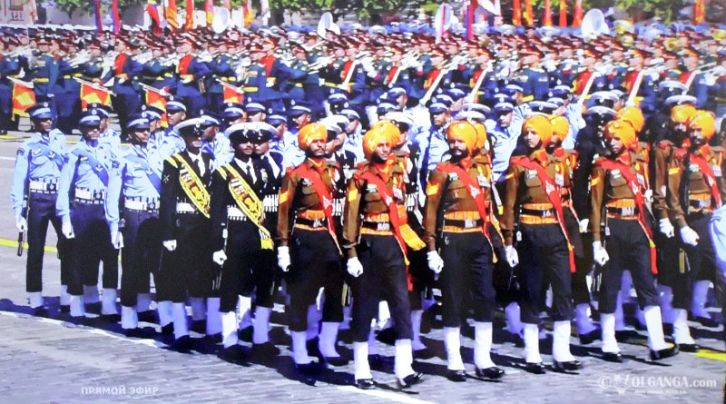 India participates in the 75th Victory Parade in Moscow