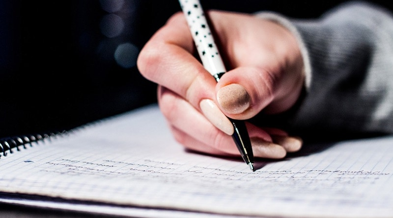 The way you write letter 'x' describes your personality