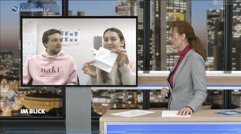 Rhein Main TV Interview nakt