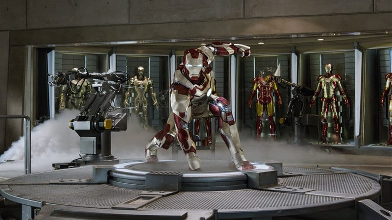 Marvel re-release in Hong Kong - Iron Man 3