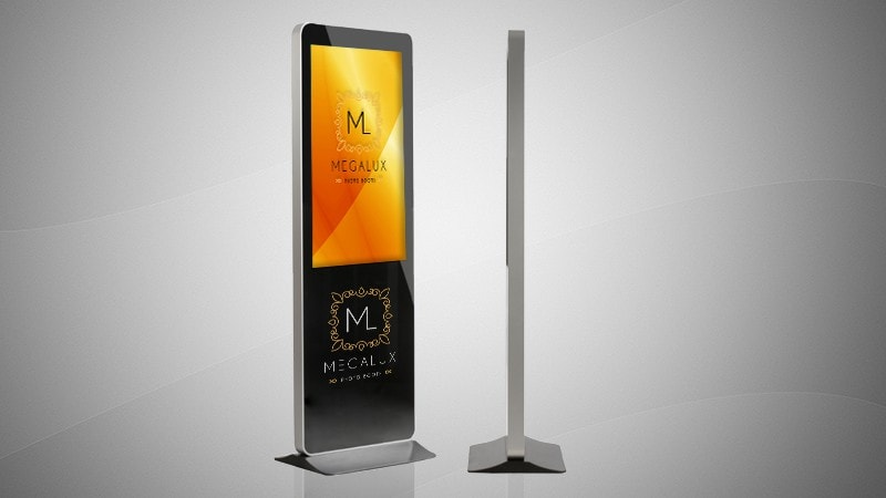 Megalux Photo Booth Rental - Open Air Touch Kiosk
