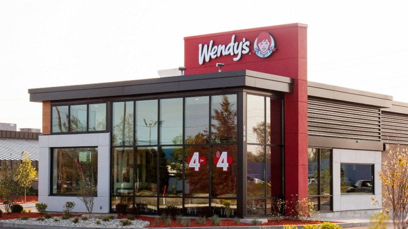 out look of wendy's restaurant