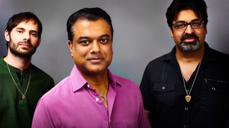 Agrima: Rudresh Mahanthappa, Rez Abbasi, and Dan Weiss