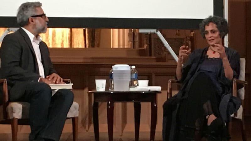 Ali Kazimi and Arundhati Roy