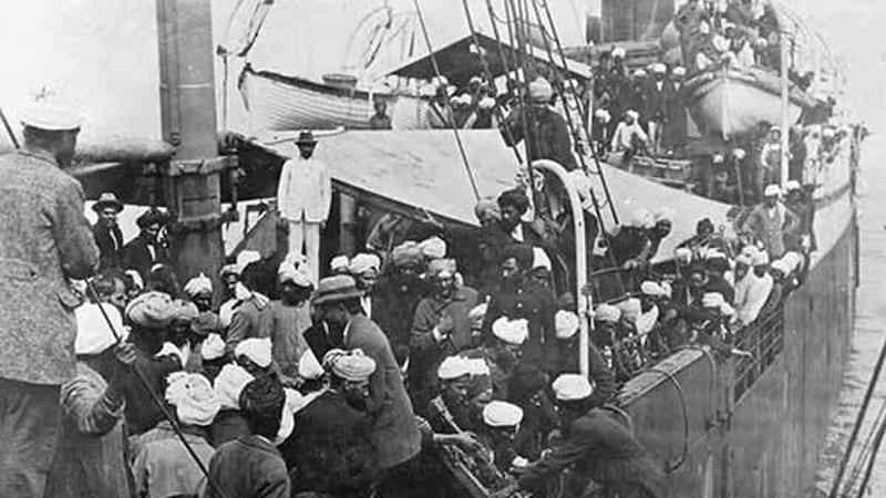 Boarding Komagata Maru