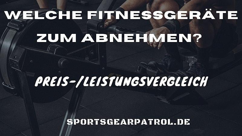 Bild Welche Fitnessgeräte zum Abnehmen
