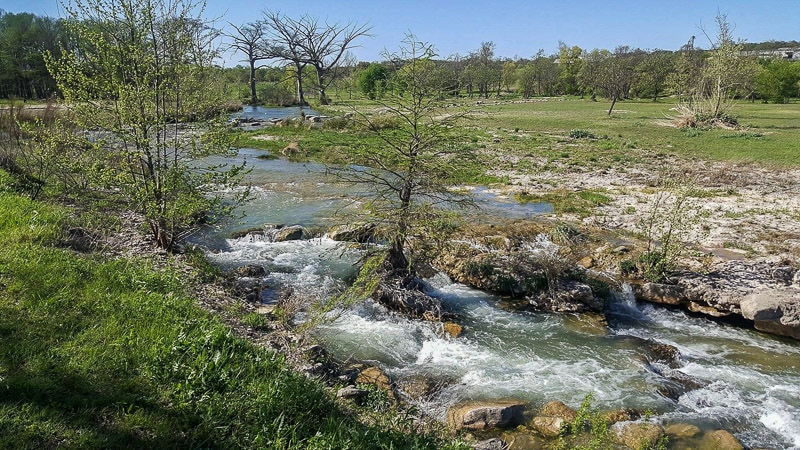 by the river rv park texas slow travel as full-time RVers