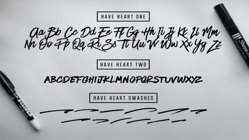 Have Heart Font Free Download