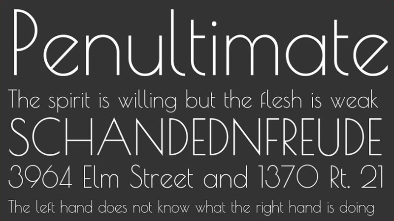 Poiret One Font Family Download