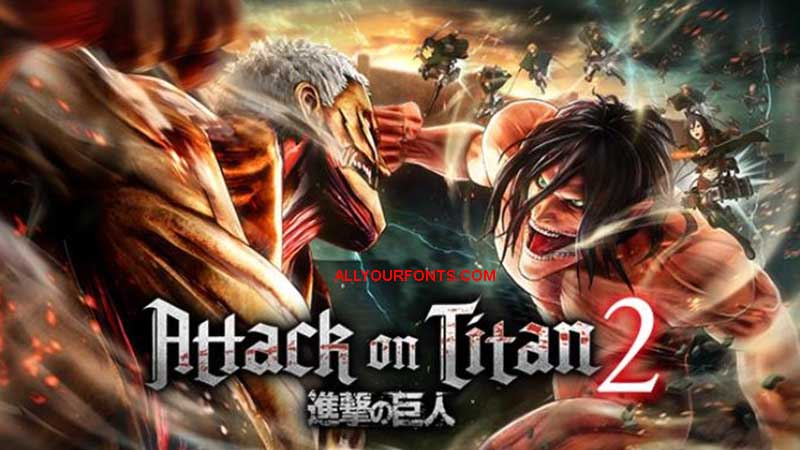 Attack on Titan Font Download