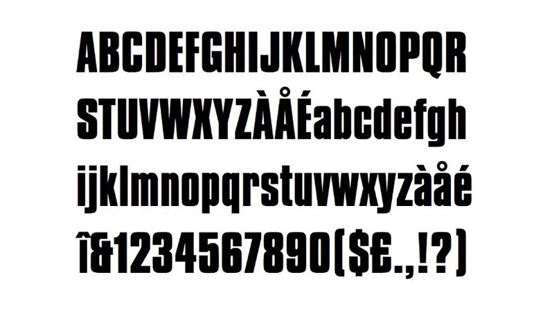 Team Fortress 2 Font Family Download
