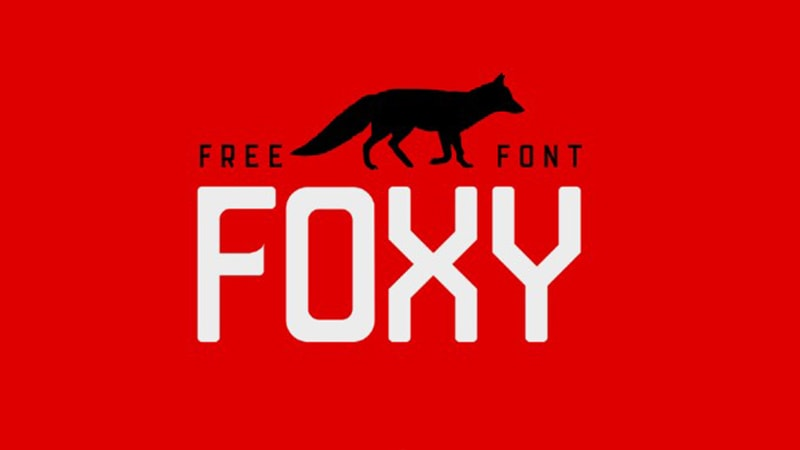Foxy Font Free Download