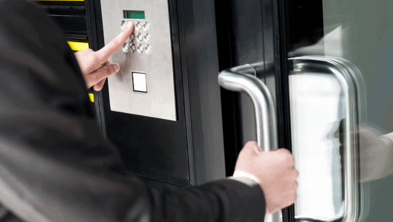 Access Control Automatic Door