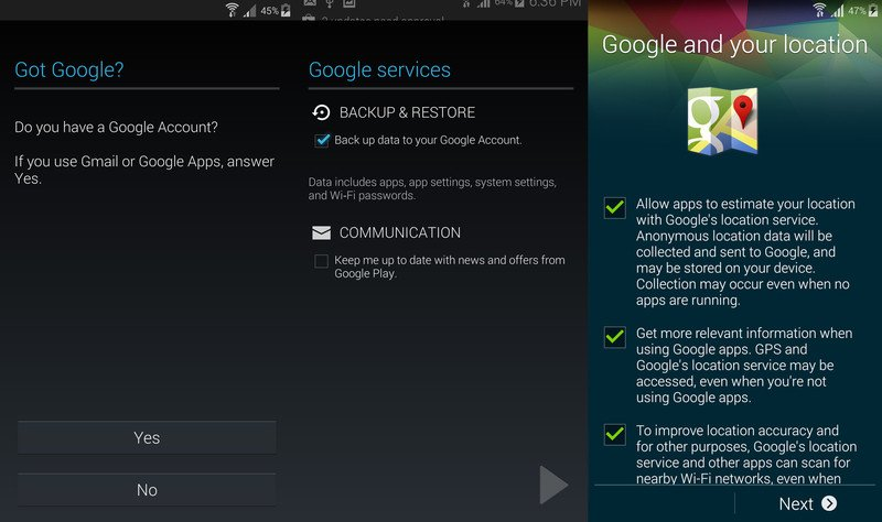 How to Restore Gmail Contacts on Samsung Galaxy S5 2