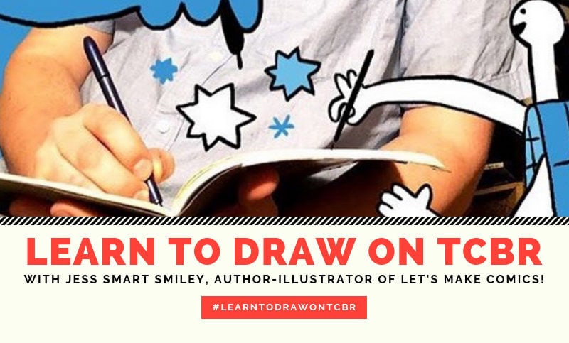 Learn-to-Draw-with-Jess-Smart-Smiley,-Creator-of-Let's-Make-Comics