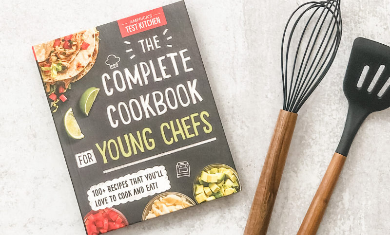 Book The Complete Cookbook For Young Chefs