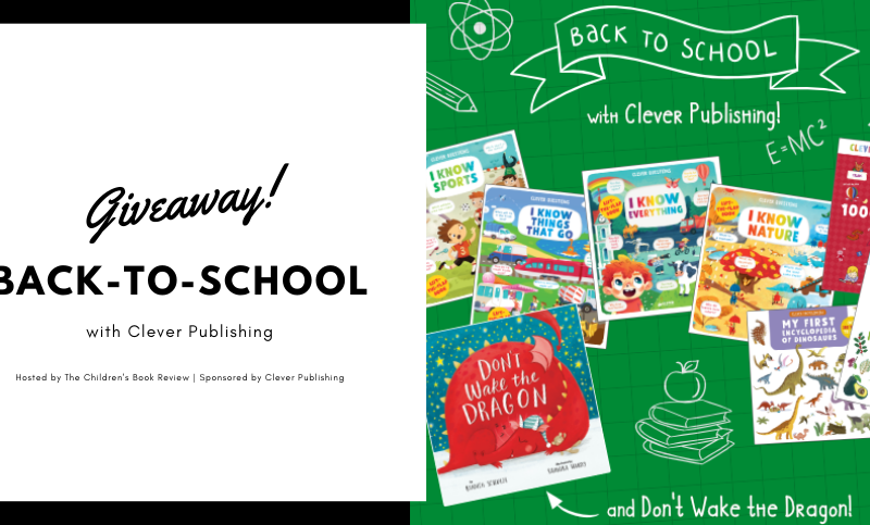 Giveaway Back to School Books