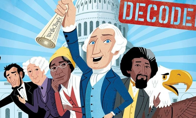 The United States Constitution Explained for Kids with Books